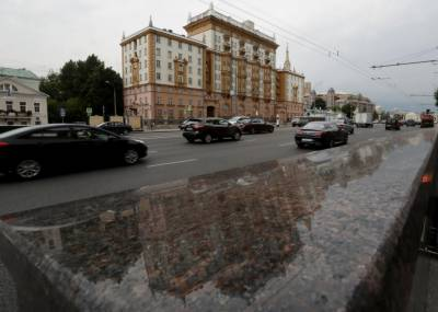 U.S. embassy diplomatic staff in Moscow barred from diplomatic property