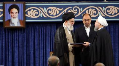 Iran's supreme leader endorses Rouhani as president for second term
