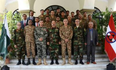 Afghan military delegation calls on Peshawar corps commander