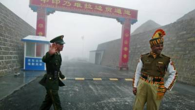 India building up troops amid border standoff: China