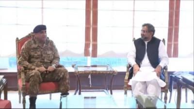 Army chief Bajwa calls on PM Abbasi