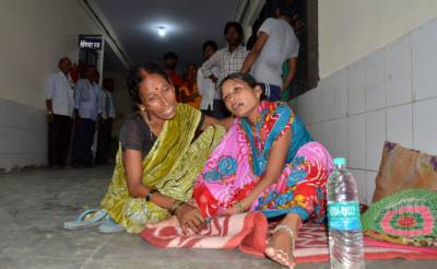 60 children die in Indian hospital as oxygen supply was cut