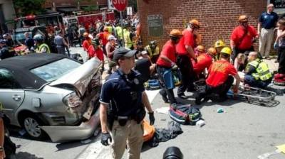 1 dead, dozens injured after clashes at Virginia rally