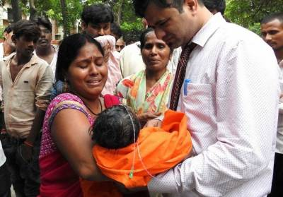Northern Indian state suspends hospital chief after deaths of 60 children