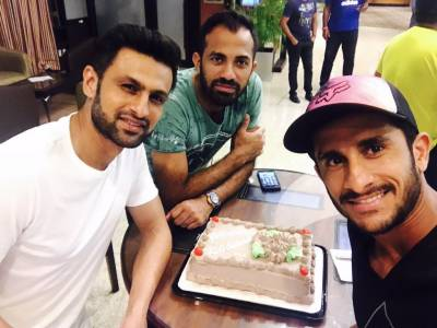 Pakistani cricketers send Independence Day wishes