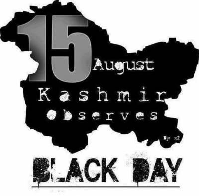 Kashmiris observe Black Day on India's Independence Day