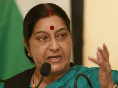 India to issue pending medical visas to Pakistani nationals: Sushma Swaraj