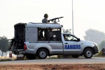 Punjab Rangers arrest seven terrorists, 20 Afghan suspects