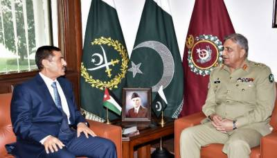 COAS Bajwa meets Jordanian ambassador over strengthening ties