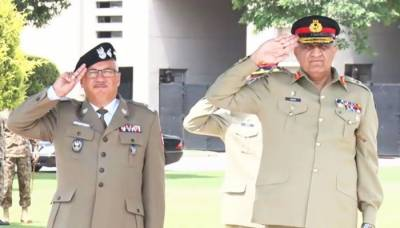 COAS Bajwa meets Polish land forces commander over bilateral security cooperation