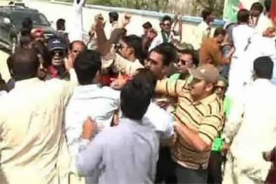 Clash between PTI, PML-N workers leaves one dead, 2 injured
