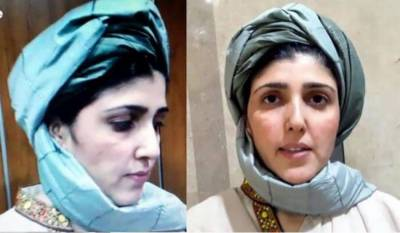 Stunning entry of Ayesha Gulalai in NA