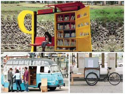 Mobile libraries around the world