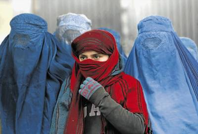 Afghan women seek right to identity
