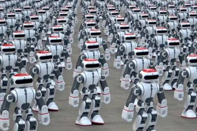 Watch: Over 1,000 dancing robots set world record