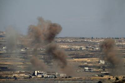 Israeli air strikes kill 2 after hitting military facility near Masyaf: Syria army