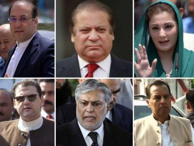 NAB approves four references against Sharif family, Dar