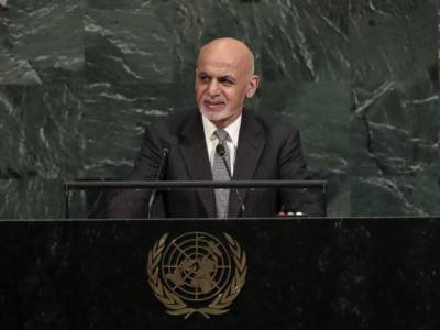 At UN, Afghan President Ashraf Ghani urges dialogue with Pakistan to curb extremism