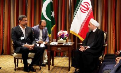 Pakistan, Iran agree to find peaceful resolution of Afghan conflict