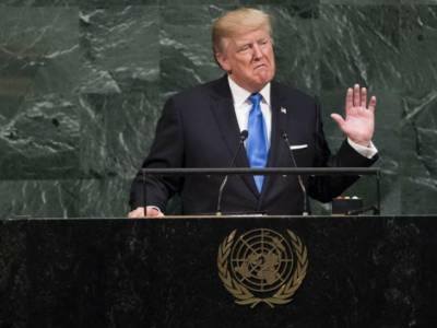 Trump at UN says US may have to 'totally destroy' North Korea