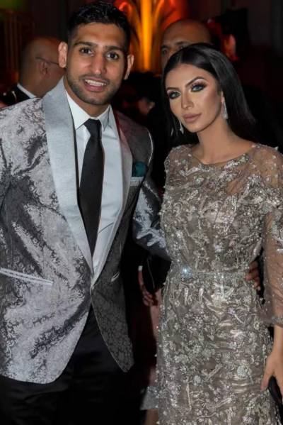 Faryal Makhdoom announces reunion with Boxer Amir Khan
