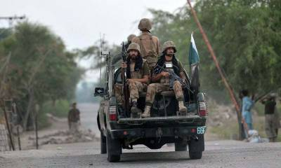 Security forces kill three suspected terrorists in DI Khan