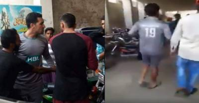 Watch: Selfie King Ahmed, Umer Gul offended, badly beat fan