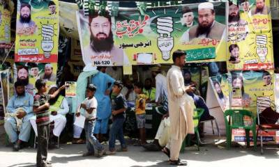 Interior Ministry asks ECP to ban Hafiz Saeed's Milli Muslim League