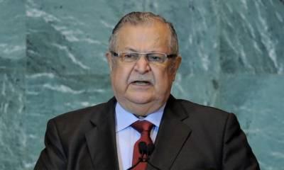 Iraqi president Jalal Talabani dies aged 83