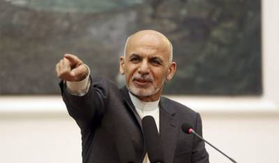"Afghan President Ashraf Ghani says he has the ""worst job on Earth"""