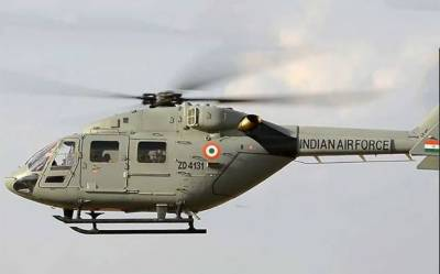 Indian air force helicopter crashes near China border, kills seven