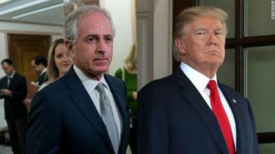 """Trump puts US on course for 'World War Three'"": Bob Corker:"