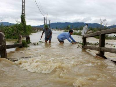 Floods and landslides in Vietnam kill 43, leave 34 missing