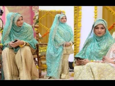 Pics: Noor Bukhari in 'hijab' after leaving showbiz