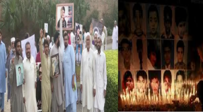 Peshawar: APS martyrs' parents protest against Imran Khan