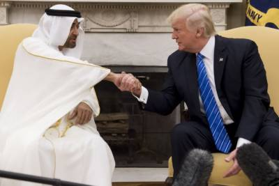 UAE strongly supports US policy against Iran