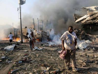 Death toll from blasts in Somalia's capital Mogadishu rises to 230