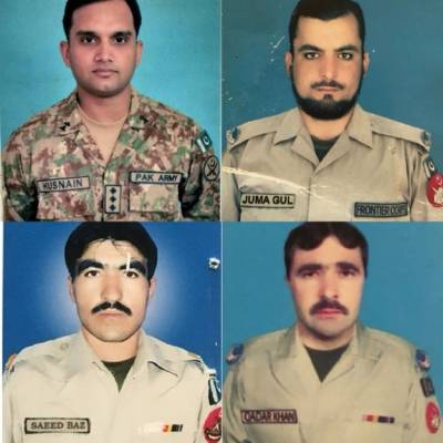 Funeral prayers of FC personnel who recovered Canadian-US family offered