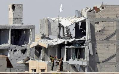Islamic State defeated in its Syrian capital Raqqa