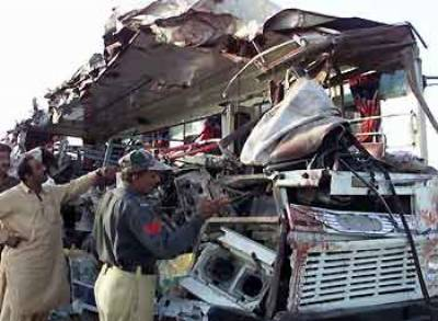 Road mishap near Sehwan claims seven lives