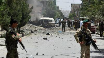 At least 40 Afghan soldiers killed, 24 injured in bomb attack at Afghan military base