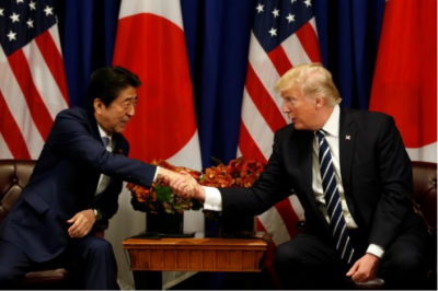 Janise Abe, Trump agree to raise pressure on North Korea: Japan government