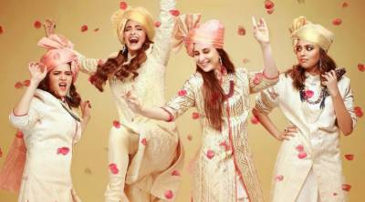 Bebo to have blast with Sonam in 'Veere Di Wedding' poster