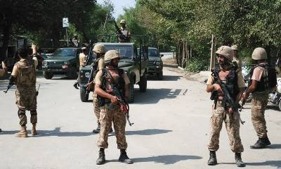 Terrorists involved in attacking army personnel killed in Afghanistan