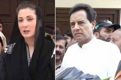 Maryam, Safdar reach accountability court to attend reference hearing