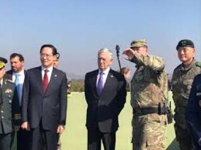 N. Korea says to release S. Korean fishing boat: Mattis in Seoul