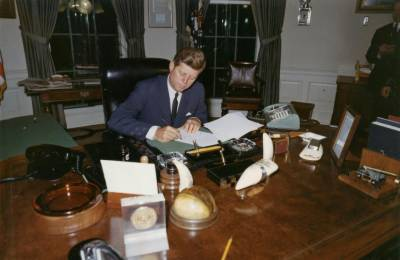 Trump releases some JFK assassination record, blocks others under pressure