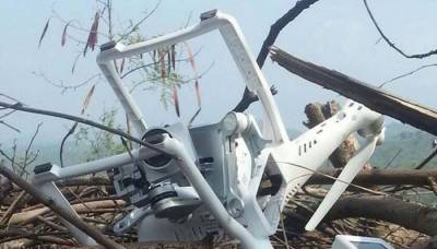 Pakistan Army shoots down Indian drone spying across LoC