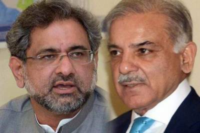 PM Abbasi, Punjab CM Shehbaz leave for London to meet ousted PM Nawaz