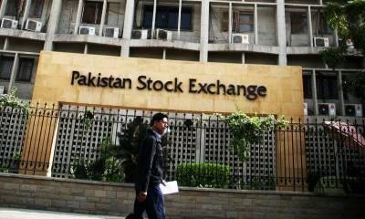 KSE-100 index gains 836 points